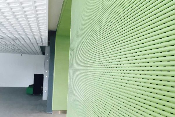 melamine acoustic walls